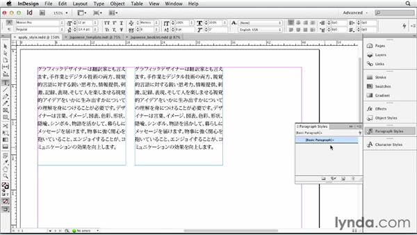 Templates for Chinese and Japanese: Multilingual Publishing Strategies with InDesign