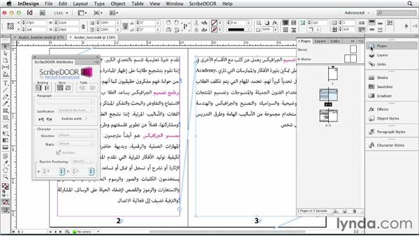 Using the ScribeDOOR plugin for ME languages: Multilingual Publishing Strategies with InDesign
