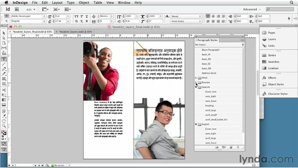 Choosing the right workflow: Multilingual Publishing Strategies with InDesign