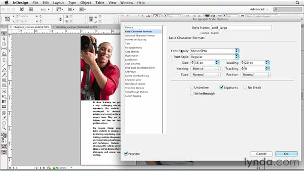 Working with one language per file: Multilingual Publishing Strategies with InDesign