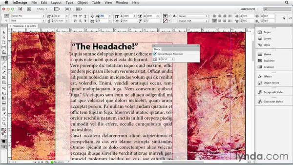 071 Understanding optical margin alignment (and the quote trick): InDesign Secrets