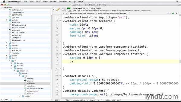 Integrating responsive forms into Drupal: Responsive Design with Drupal