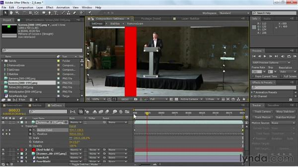 Utilizing corner pin tracking: VFX Techniques: Crowd Replication with After Effects