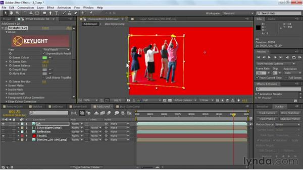 Rotoscoping greenscreen: VFX Techniques: Crowd Replication with After Effects
