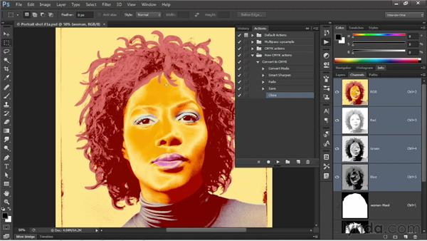 Creating conditional actions: Photoshop CS6 New Features