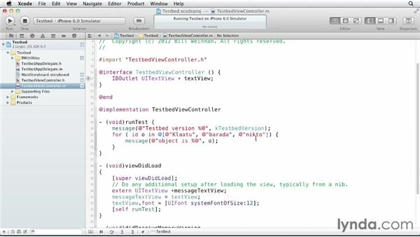 Prototyping in a testbed: iOS SDK and SQLite: Building Data-Driven Apps (2013)