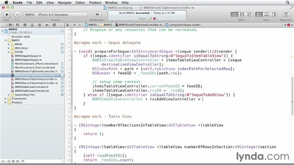 Delegating back to the parent view: iOS SDK and SQLite: Building Data-Driven Apps (2013)