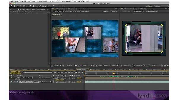 Color matching: After Effects Apprentice 16: Creating a Medical Opening Title