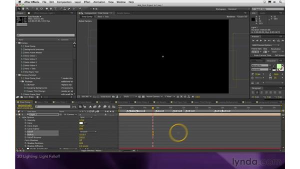 3D lighting: After Effects Apprentice 16: Creating a Medical Opening Title