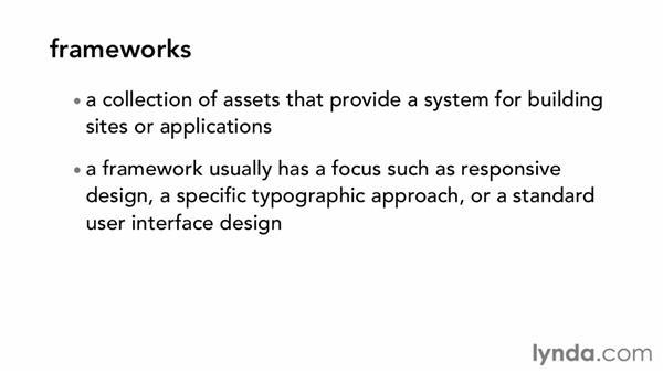 Boilerplates, grids, and frameworks: CSS: Frameworks and Grids