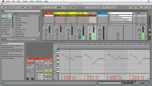Converting audio to MIDI: Up and Running with Ableton Live 9