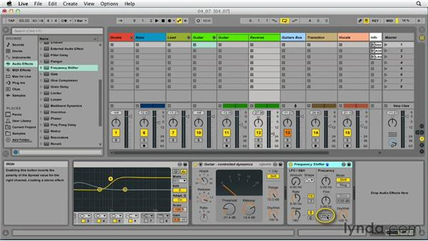 Mixing techniques: Up and Running with Ableton Live 9