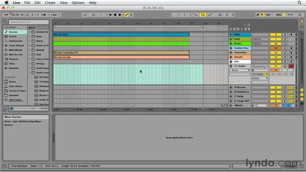 Exporting your song: Up and Running with Ableton Live 9