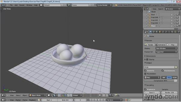Enabling the Cycles renderer: Rendering Using Cycles in Blender