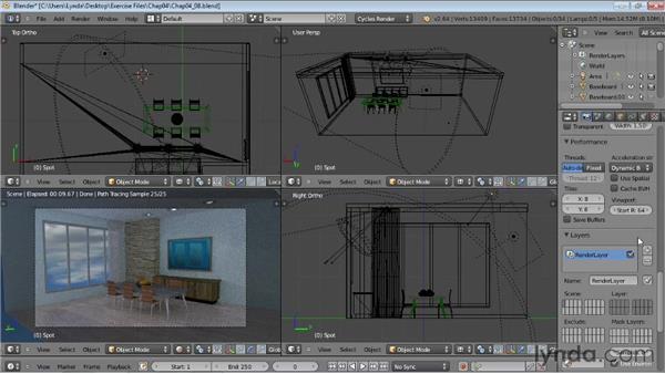 Final rendering: Rendering Using Cycles in Blender