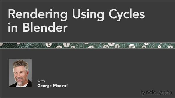 Next steps: Rendering Using Cycles in Blender