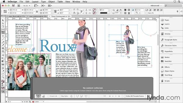 073 Working with sets in the content conveyor tool: InDesign Secrets