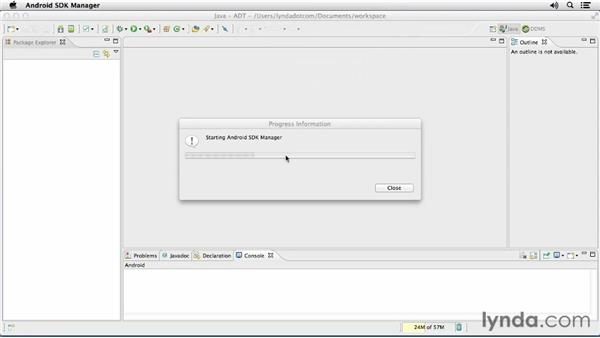 Configuring Eclipse and the Android Developer Tools: Android SDK: Local Data Storage