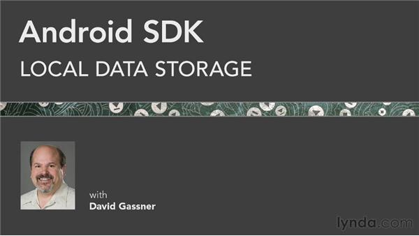 Where to go from here: Android SDK: Local Data Storage