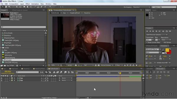 Next steps: VFX Techniques: Tracking Objects onto a Face