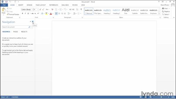 Exploring the new user interface: Office 2013 New Features