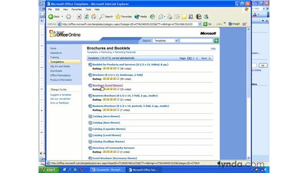 downloading: Word 2003 Essential Training