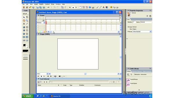 work flow improvements: New in Director MX 2004