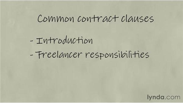Creating contracts: Freelancing Fundamentals