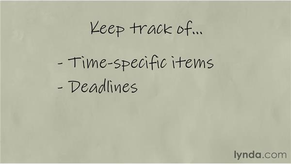 Creating schedules: Freelancing Fundamentals