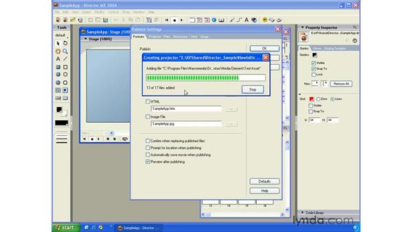 cross platform projectors: New in Director MX 2004