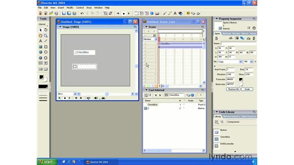 new tools palette: New in Director MX 2004