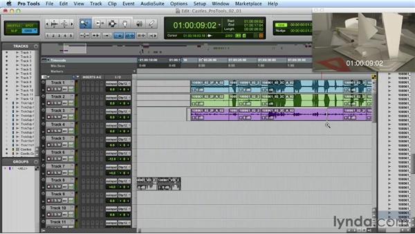 First steps: Mixing a Short Film with Pro Tools