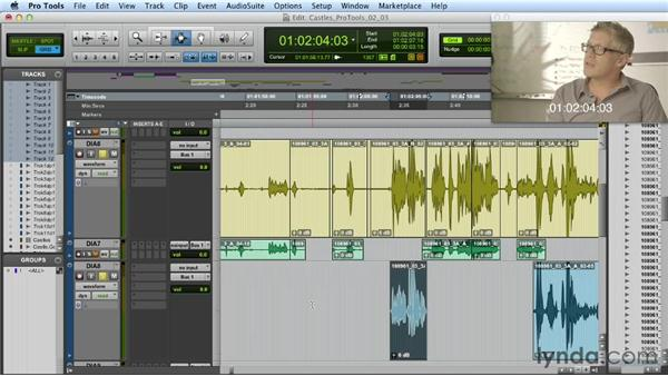 Dialogue editing: Part two: Mixing a Short Film with Pro Tools
