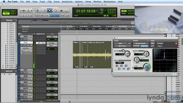 Fixing hum problems with processing: Mixing a Short Film with Pro Tools