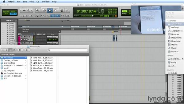 Building background ambience: Mixing a Short Film with Pro Tools