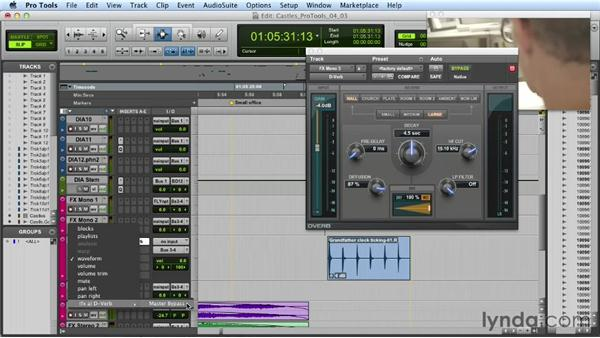 Automating plugins: Mixing a Short Film with Pro Tools