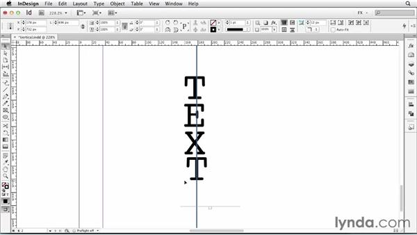 077 Setting text vertically: InDesign FX