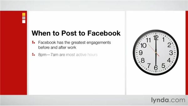 When to post on Facebook: Facebook for Photo and Video Pros