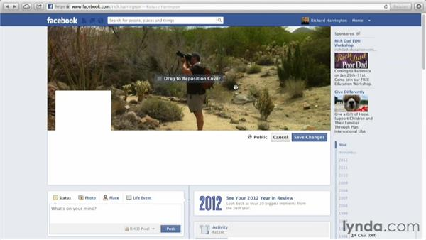 Enhancing your page: Facebook for Photo and Video Pros