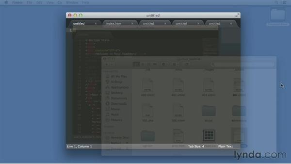 Welcome: Up and Running with Sublime Text 2