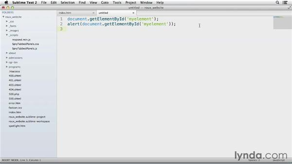 Using macros in code: Up and Running with Sublime Text 2