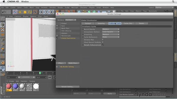 Optimizing sampling settings: Production Rendering Techniques in CINEMA 4D