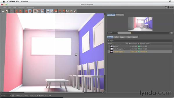 Preventing over- or underexposure with color mapping: Production Rendering Techniques in CINEMA 4D