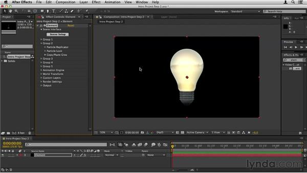 Turning on the light: Element 3D Essential Training