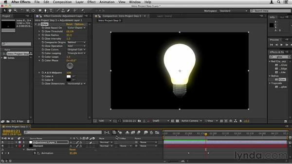 Adding the final touches: Element 3D Essential Training
