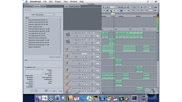 volume: Soundtrack Essential Training