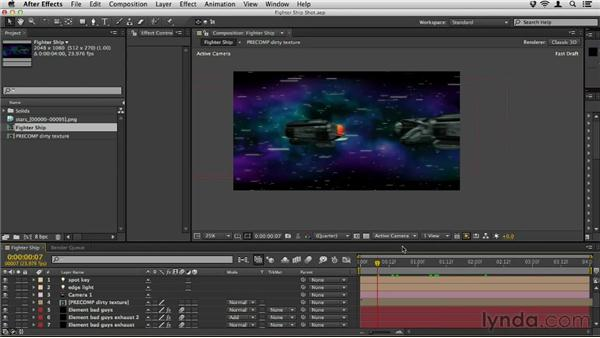 Adding animation: Element 3D Essential Training