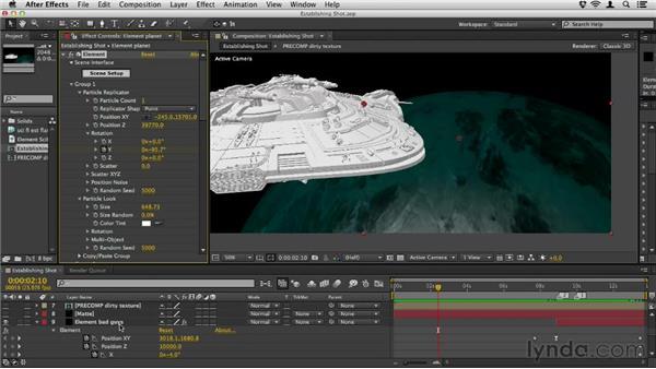 Creating the materials: Element 3D Essential Training