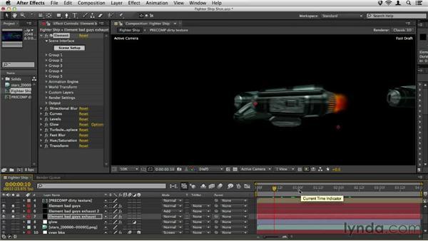 Adding the final polish: Element 3D Essential Training