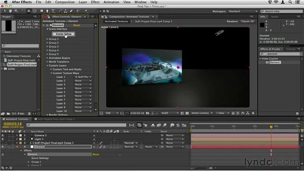 Final tips and tricks: Element 3D Essential Training